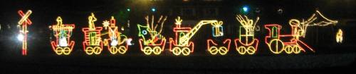 Drive-Thru Christmas Lights at Stadium Park in Canton