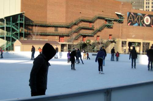 Outdoor Rink at Lock3