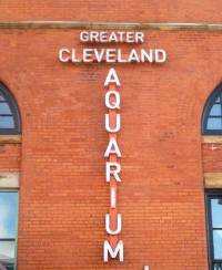Cleveland Aquarium Sign