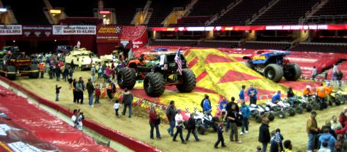 Monster Jam Pre-Show Pit Party
