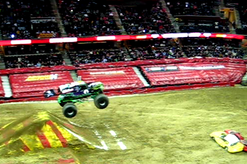 Son Uva Digger Freestyling at Monster Jam