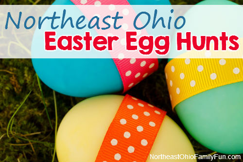 Northeast Ohio Easter Egg Hunts