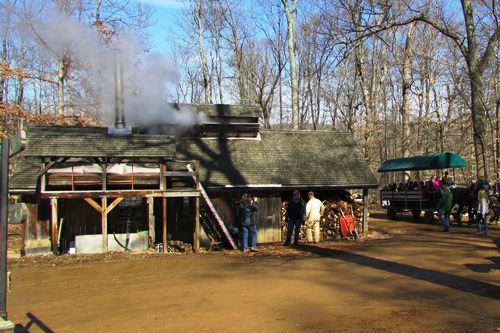 Sugar Shack at Malabar Farm State Park