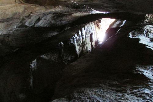 The Butternut Trail Cave at Malabar Farm State Park