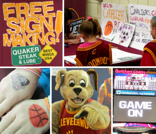 Cleveland Cavs Family Night