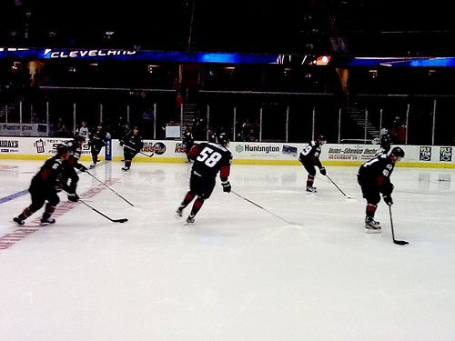 Review: Lake Erie Monsters Ice Hockey at The Q