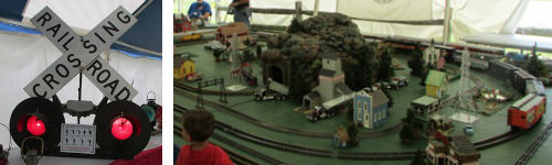 CVSR Model Train Display