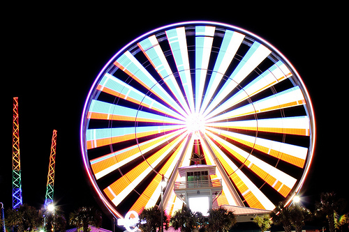 Myrtle Beach SkyWheel Nightly Light Show