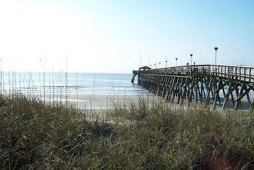 Is There A Pier In Myrtle Beach State Park