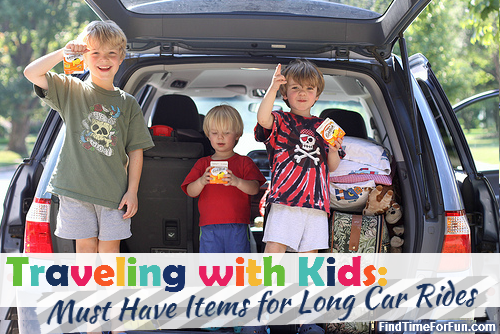Traveling with Kids - Packing the Car