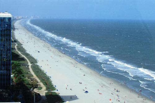 View from Myrtle Beach SkyWheel