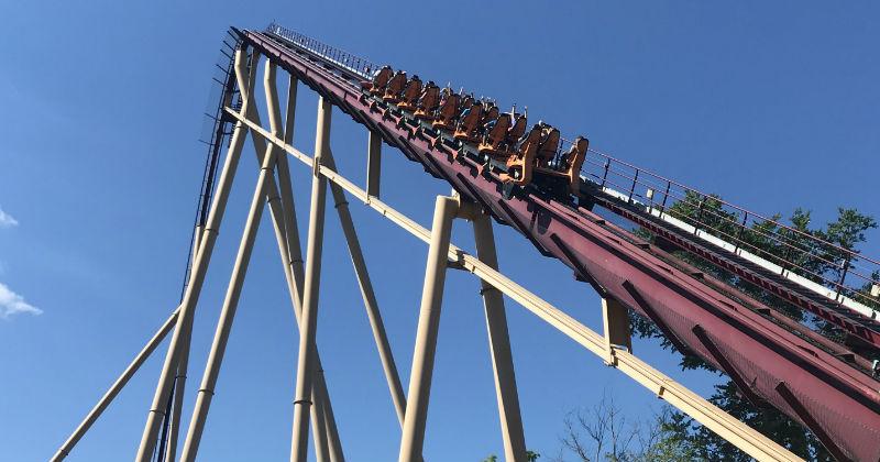 Diamondback Roller Coaster at Kings Island