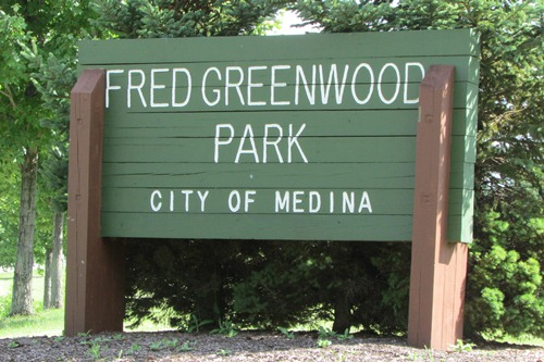 Fred Greenwood Park Medina Ohio