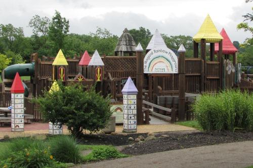 Magical Rainbow Playground at Metgzer Park Louisville Ohio