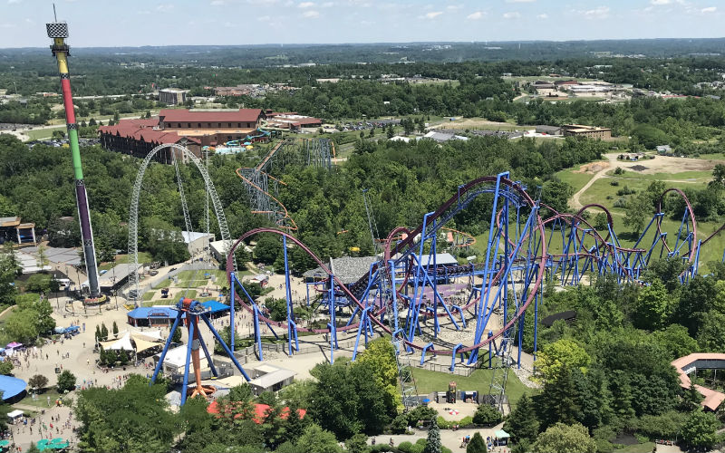 Kings Island Fun for Families with Young Children