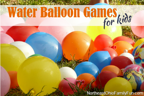 Water balloon games for kids for Fun balloon games for kids