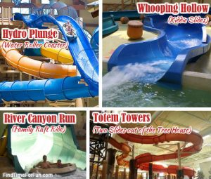 Water Slides at Great Wolf Lodge