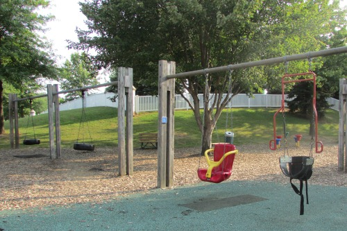 Accessible Swing Set at Jackson Township North Park