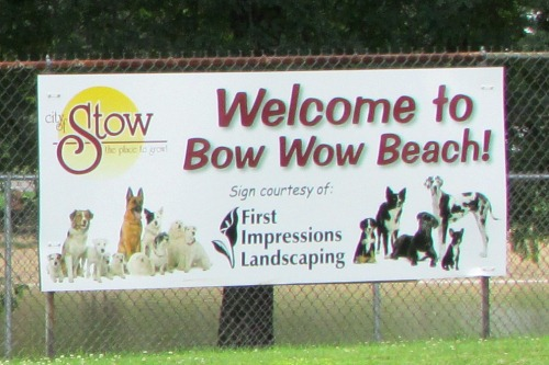 Bow Wow Beach Dog Park Stow Ohio