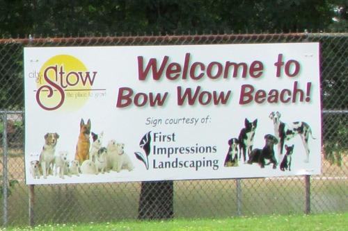 Bow Wow Beach Dog Park Stow Ohio