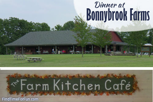 Dinner at Bonnybrook Farms
