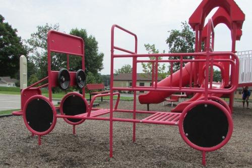 Firetruck Playground Equipment Stow Ohio