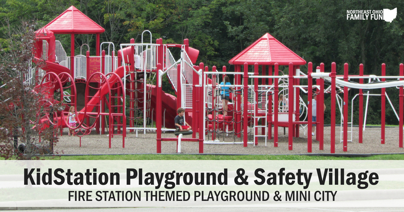 KidStation Playground and Safety Village Stow Ohio
