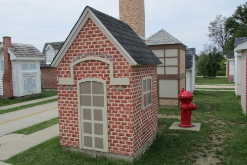 Mini Fire Station at Safety Village Stow Ohio