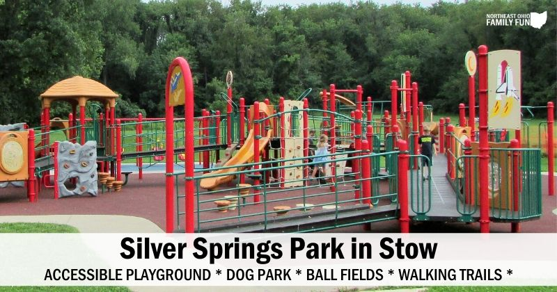 Silver Springs Park in Stow SOAR