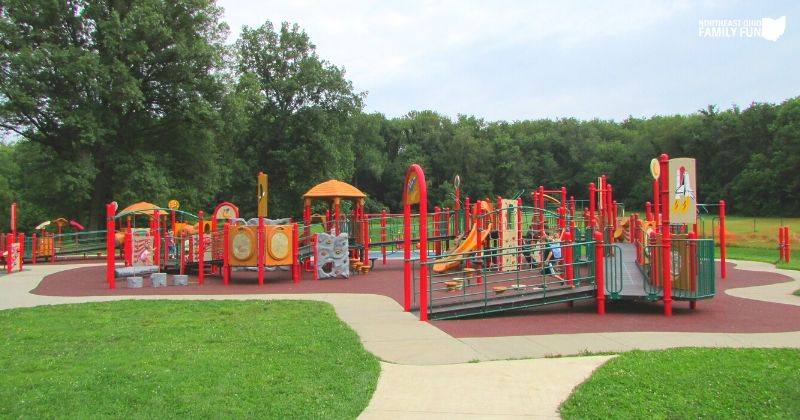 Silver Springs Park in Stow SOAR Playground
