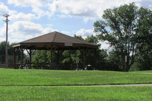 Pavilion at Kleidoscope Playground Wadsworth Ohio