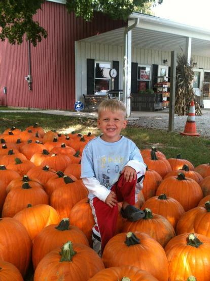 Pumpkins at Red Wagon Farms