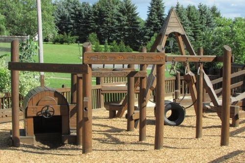 Toddler Area at Kaleidscope Playground Wadsworth Ohio