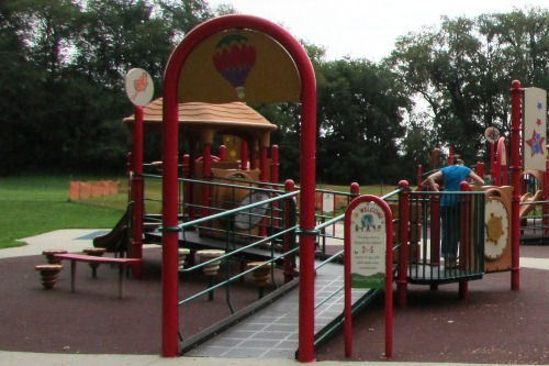 Toddler Area at SOAR Playground