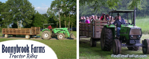 Tractor Rides at Bonnybrook Farms