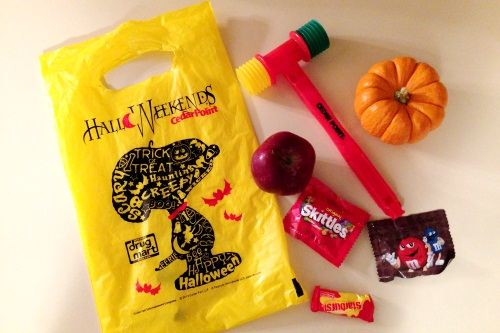 Cedar Point Trick or Treat Goodies