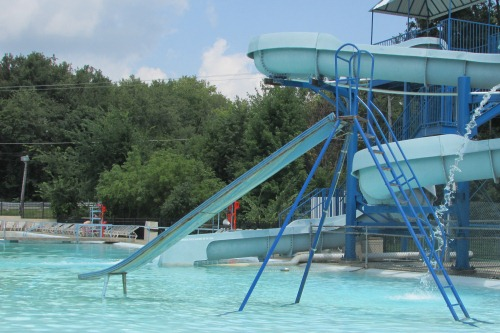 Clearwater Park Pool Slide