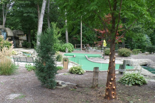 Minature Golf Put-in-Bay Ohio