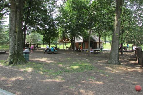 Picnic Tables SKIP Playground Stow Ohio