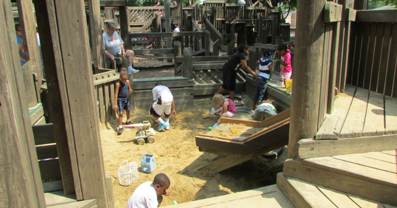 Sandbox SKIP Playground Stow Ohio