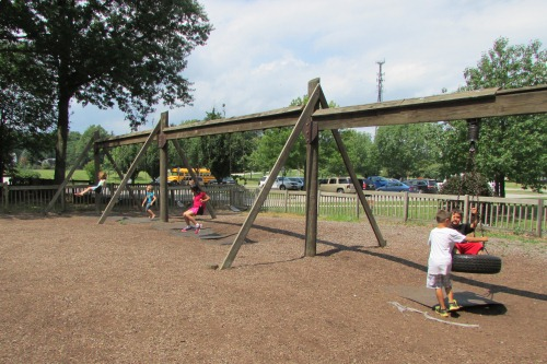 Swingset SKIP Playground Stow Ohio