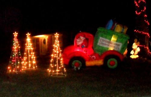 Christmas Light Display Wayne County Ohio