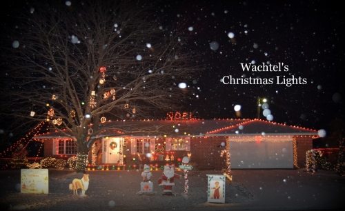 Watchel Christmas Light Display Ohio