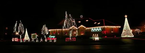 north aspen christmas light display canfield ohio