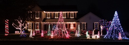 Tyler Christmas Light Display