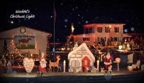 Wachtel's Christmas Light Display – Drive Thru Display in Holmes ...