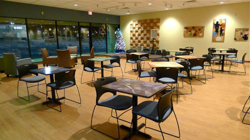 Cafe O'Play Dinning Area
