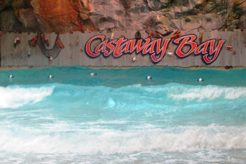 Wave Pool at Castaway Bay