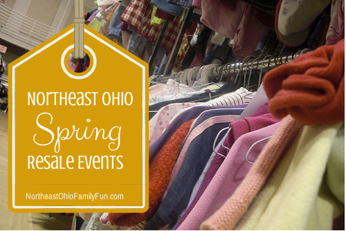 Kids Spring Resale Events in Northeast Ohio