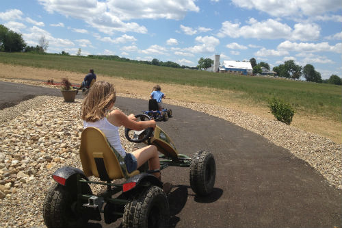 Pedal Carts at Nickajack Farms